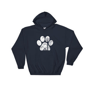 Camp Paw Hoodie - Copper Paws