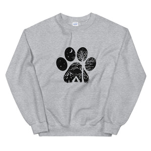 Camp Paw Sweatshirt - Copper Paws
