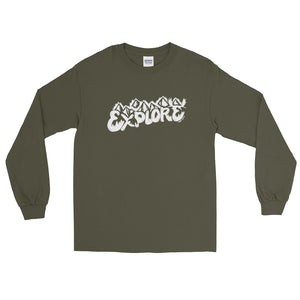 Explore Long Sleeve Shirt - Copper Paws Dog Tags
