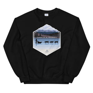 Sledding Journey Sweatshirt - Copper Paws Dog Tags