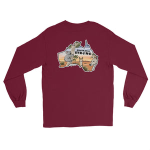 Australia Strong Long Sleeve Shirt - Copper Paws Dog Tags