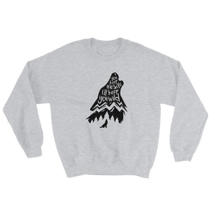 Wild Wolf Sweatshirt - Copper Paws
