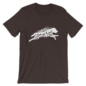 Running Wild Tee - Copper Paws