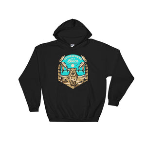Beach Dog Hoodie - Copper Paws