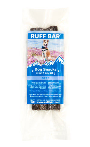 Beef RUFF BAR - Copper Paws