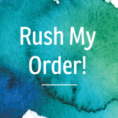 Rush My Order! - Copper Paws Dog Tags