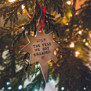 North Star Ornament - Copper Paws Dog Tags