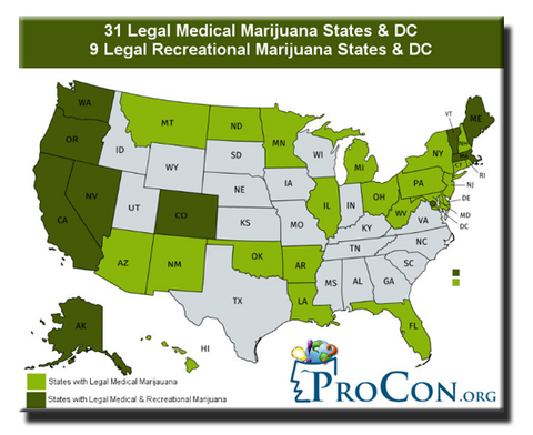 Legal Cannabis States