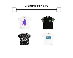 Tee Bundle: 2 for $40Be Lit BrandTeesbelitbrand