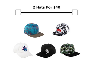 Hat Bundle: 2 for $40Be Lit BrandHatsbelitbrand