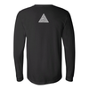 "Long Sleeve Shirt, Black ""Wake Bake Meditate""Be Lit Brandbelitbrand"