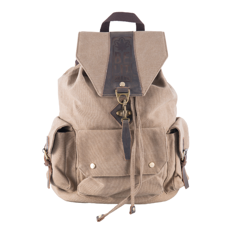 Be Lit Backpack, Khaki Tanbelitbrandbelitbrand