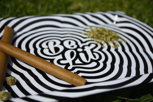 Be Lit Travel Rolling Tray, Be Lit RippleBe Lit Brandbelitbrand