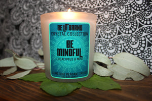 Be Lit Crystal Collection 5oz Odor Eliminating Candle, Be MindfulBe Lit Brandbelitbrand