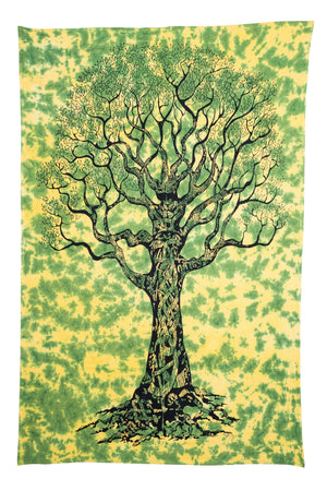 Be Lit Tapestry, TieDye Tree of Lifebelitbrandbelitbrand