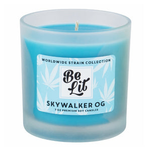 Be Lit Premium 7oz Odor Eliminating Candle, Skywalker OGBe Lit Brandbelitbrand