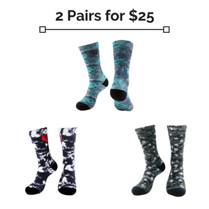 Sock Bundle: 2 for $25belitbrandbelitbrand