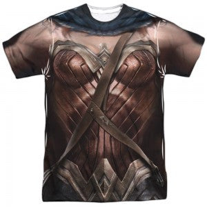 Batman v Superman Wonder Woman Uniform T Shirt
