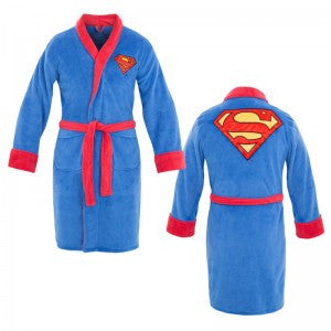 Superman Terrycloth Robe