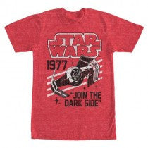 Star Wars Join Dark Side Ship T-Shirt
