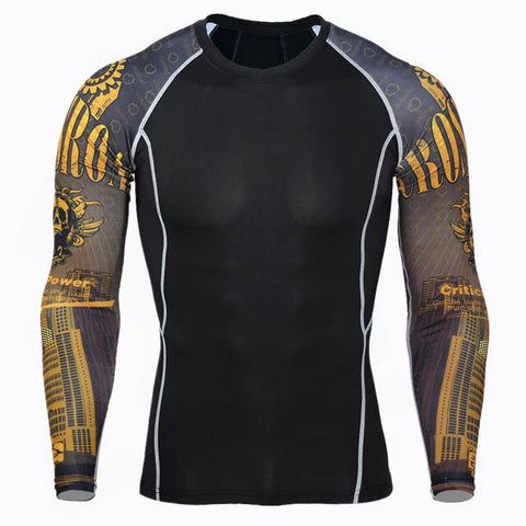 Critical Power Rash Guard