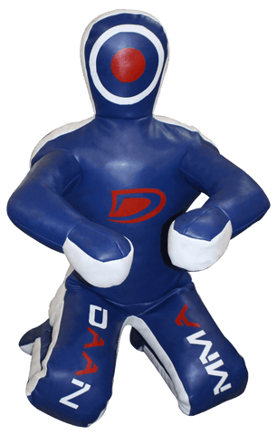 Dummy - Blue Leather Grappling Dummy