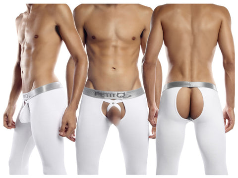 PQ15 Long Johns Color White