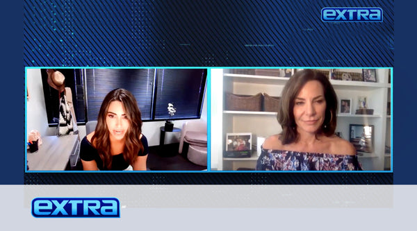 ExtraTV - Luann De Lesseps teases her new skincare partnership with Sonage Skincare on ExtraTV