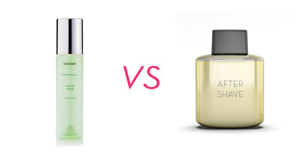 Facial Rinse VS After shave