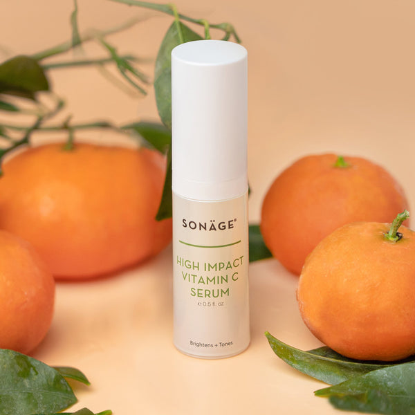 Sonage High Impact Vitamin C Serum with ascorbic acid derived from tangerines