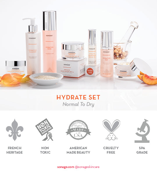 Hydrate Set for Dryness and Fine Lines