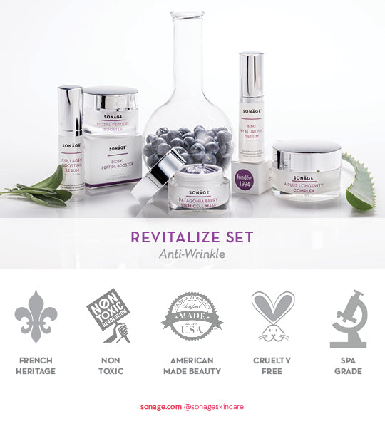 Revitalize Set for Mature Skin and Wrinkles