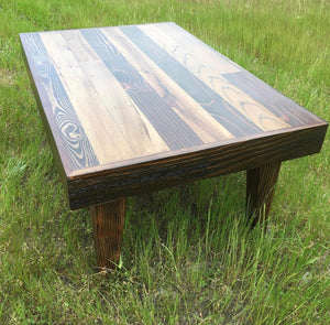 Cali Vibes -Reclaimed Wood Coffee Table - Custom order 6-8 weeks to ship