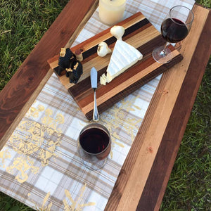 Reclaimed Exotic Wood Cutting Board