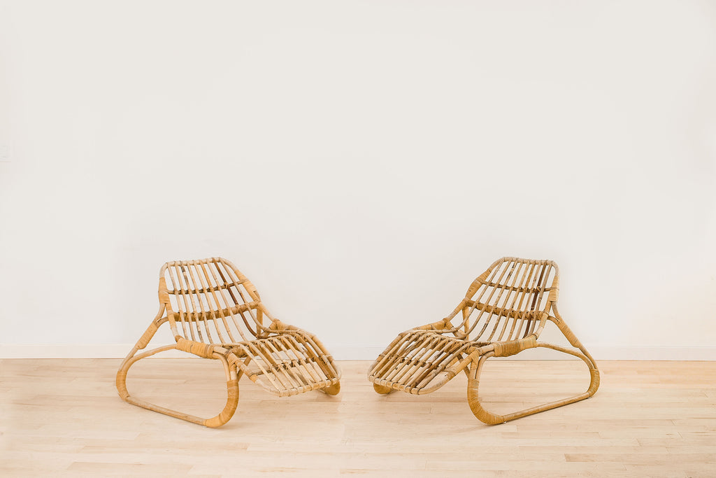 Rental - Rattan Lounge Chair (Pair)