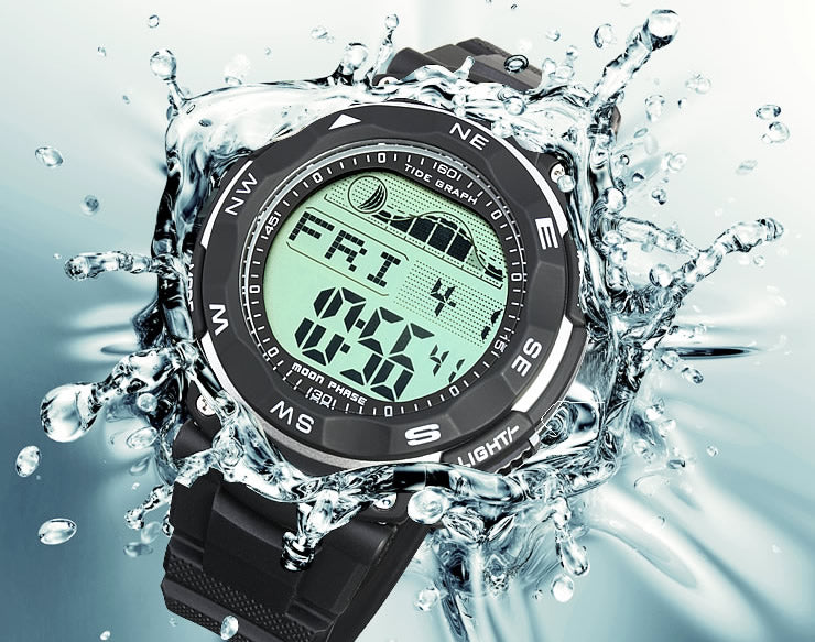 Tide graph Master 100 meter waterproof lad019