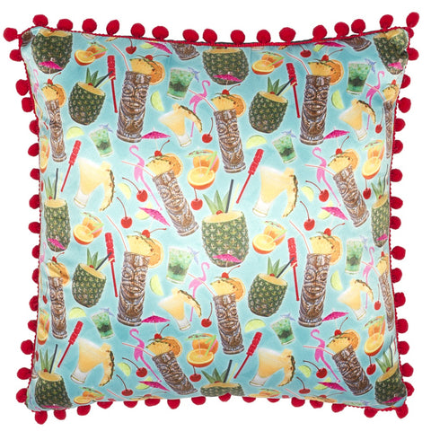 Tropical Drinks Cushion