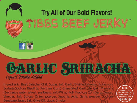 Did someone say Garlic Sriracha?