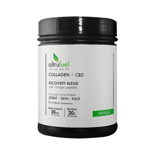Altrufuel Collagen + Hemp Recovery Blend
