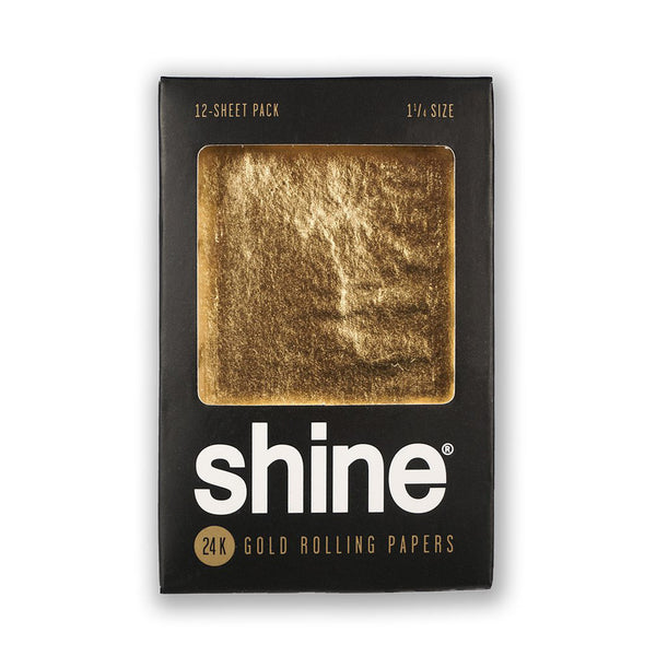 Shine® 24k Gold Rolling Papers (12-Pack)