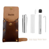 SilverStick Leather Kit + One-Hitter