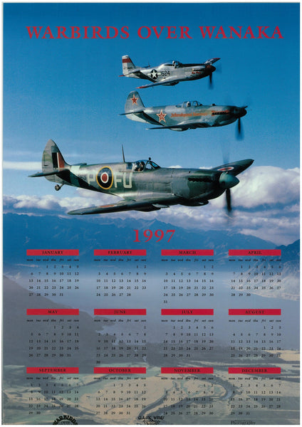 Warbirds Over Wanaka Calendar 1997
