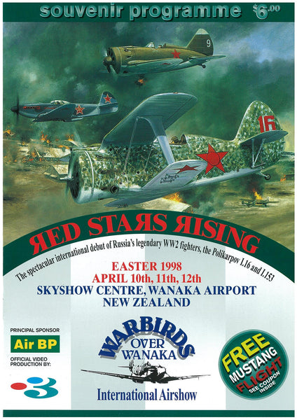 Official Airshow Printed Programme 1998
