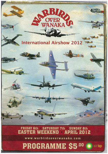 Official Airshow Printed Programme 2012