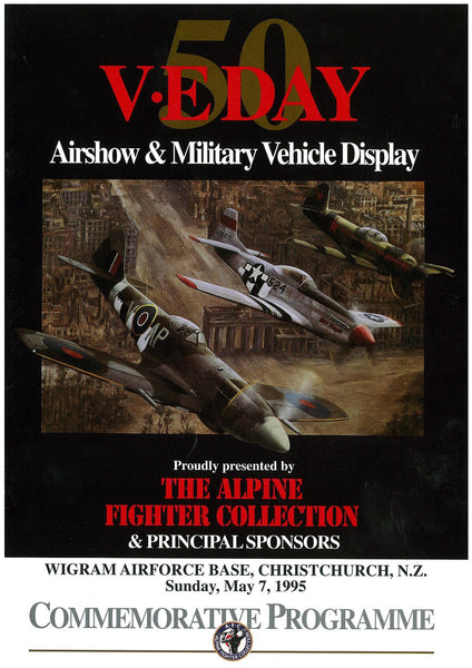 Official Airshow Printed Programme VE Day 1995