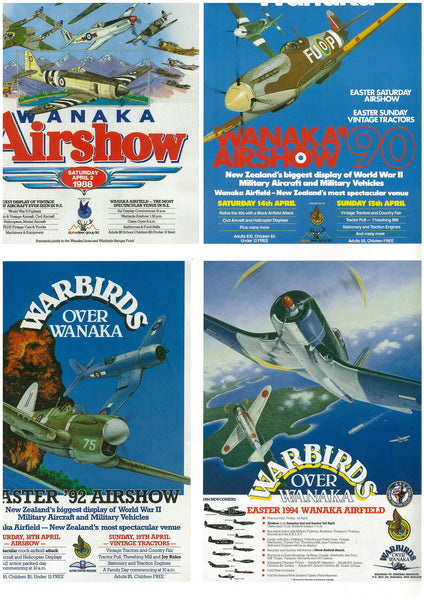 Poster 1988, 1990, 1992, 1994, composite