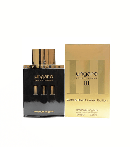 UNGARO 3 GOLD EDITION 100 ML EDT HOMBRE