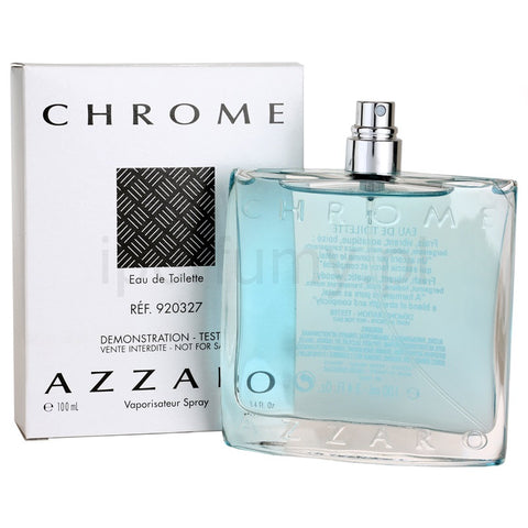 Azzaro Chrome 100ml TESTER , Azzaro