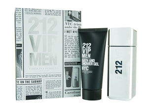 212 Vip Hombre 100ml + 100ml Gel Douche , Carolina Herrera, [price],