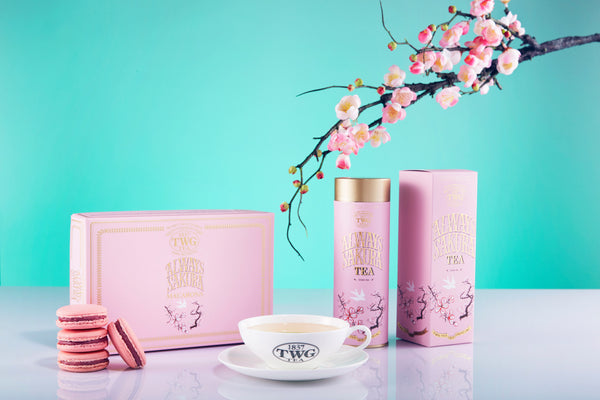 TWG Tea comes into bloom this Spring with Always Sakura Tea